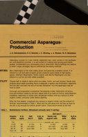 Commercial Asparagus Production