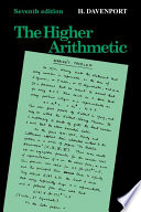 Cover of The Higher Arithmetic