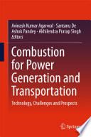 Combustion for Power Generation and Transportation