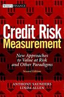 Credit Risk Measurement