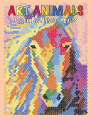 Art Animals Color by Number Quest  Activity Puzzle Color by Number Book for Adults Relaxation and Stress Relief