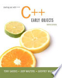 Starting Out with C++