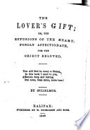 The Lover S Gift Or The Effusions Of The Heart Book PDF