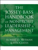 The Jossey-Bass Handbook of Nonprofit Leadership and Management