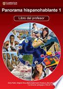 Panorama hispanohablante 1 Libro del Profesor with CD-ROM