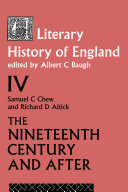 A Literary History of England