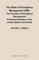 The State of Emergency Management 2000