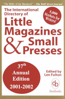 International Directory Of Little Magazines And Small Presses