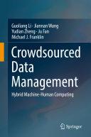 Crowdsourced Data Management
