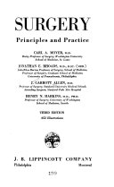 Surgery  Principles and Practice Book
