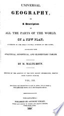 Universal Geography, Or, A Description of All the Parts of