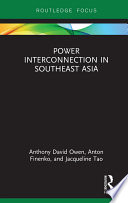 Power Interconnection in Southeast Asia