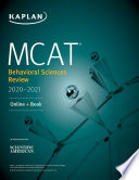Mcat Behavioral Sciences Review 2020 2021