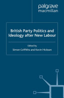 British Party Politics and Ideology after New Labour ebook