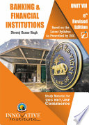 Banking and Financial Institutions for UGC NET JRF Commerce