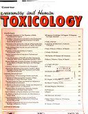 Veterinary and Human Toxicology