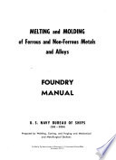 Melting and Molding of Ferrous and Non-ferrous Metals and Alloys