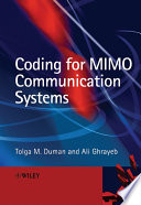Coding for MIMO Communication Systems Book