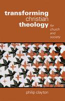 Transforming Christian Theology