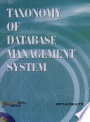Taxonomy Of Database Management System Book PDF