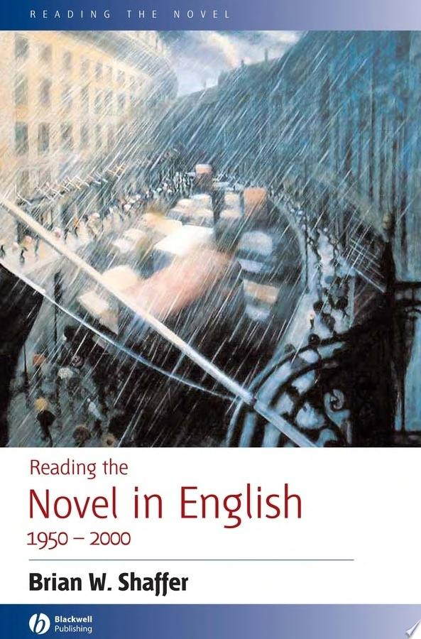 Reading the Novel in English 1950   2000