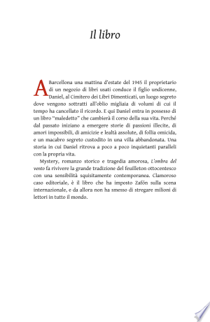 Download L'ombra del vento Free Books - Reading Best Books For Free 2018