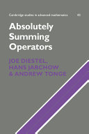 Absolutely Summing Operators