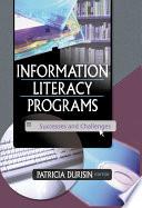 Information Literacy Programs Book