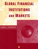 Cover image of Global financial institutions and markets