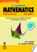 S.Chand's Mathematics -XII (Vol-I)