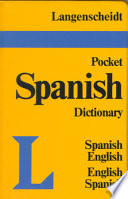 Langenscheidt's Pocket Spanish Dictionary