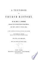 A Text-book of Church History: A.D. 1305-1517
