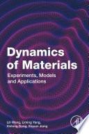 Dynamics Of Materials Book PDF