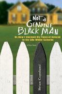 Not a Genuine Black Man Book