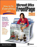How to Do Everything with Microsoft Office FrontPage 2003