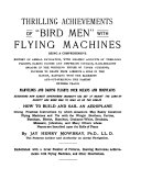 Thrilling Achievement of  bird Men  with Flying Machines