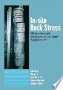 In Situ Rock Stress