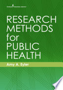 Research Methods for Public Health Book