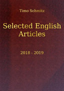 Selected English Articles  2018 2019