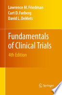 Fundamentals of Clinical Trials Book