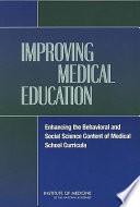 Improving Medical Education Book PDF