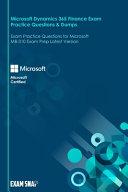 Microsoft Dynamics 365 Finance Exam Practice Questions   Dumps