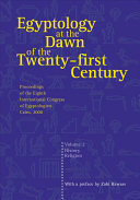 Egyptology at the Dawn of the Twenty-first Century