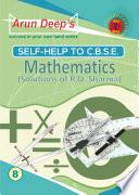 Self Help to CBSE Mathematics 8  Solutions of RD Sharma