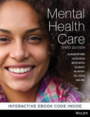 Cover of Mental Health Care