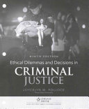 Ethical Dilemmas and Decisions in Criminal Justice   Mindtap Criminal Justice  1 Term 6 Month Printed Access Card
