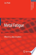 Metal Fatigue Book PDF