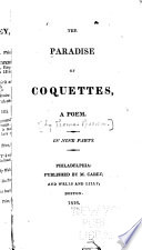 The Paradise of Coquettes, a Poem