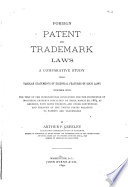 Foreign Patent and Trademark Laws