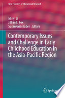 Contemporary Issues And Challenge In Early Childhood Education In The Asia Pacific Region